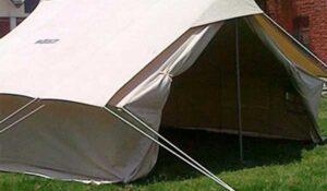 afet çadırı önden görünüm